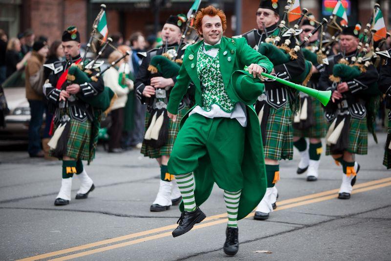 Parade Image St Patricks Day
